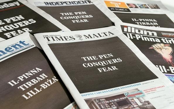 MALTA-POLITICS-CORRUPTION-CRIME-MURDER-PRESS-MEDIA