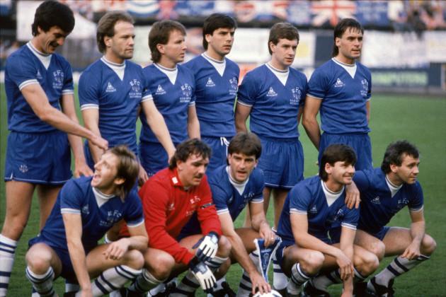 Soccer - European Cup Winners Cup - Final - Everton v Rapid Vienna