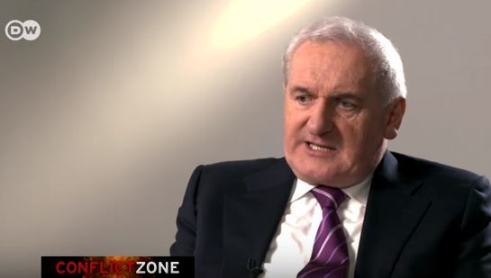 Bertie Ahern cuts interview short after he's asked about Mahon Tribunal