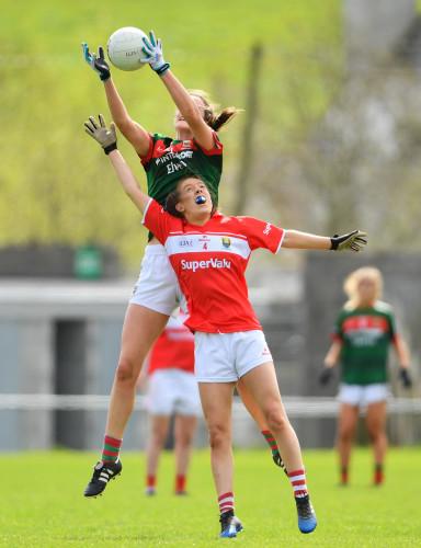 Cork v Mayo - Lidl Ladies Football National League Division 1 semi-final