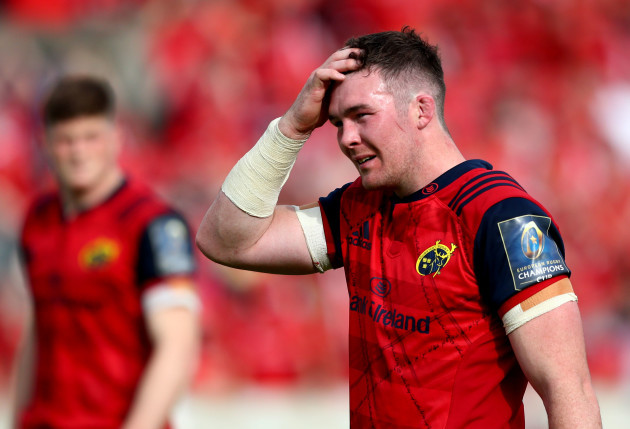 Peter O'Mahony dejected