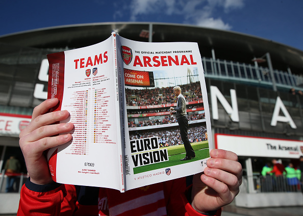 2018 UEFA Europa League Football Semi Final 1st Leg Arsenal v Atletico Madrid Apr 26th