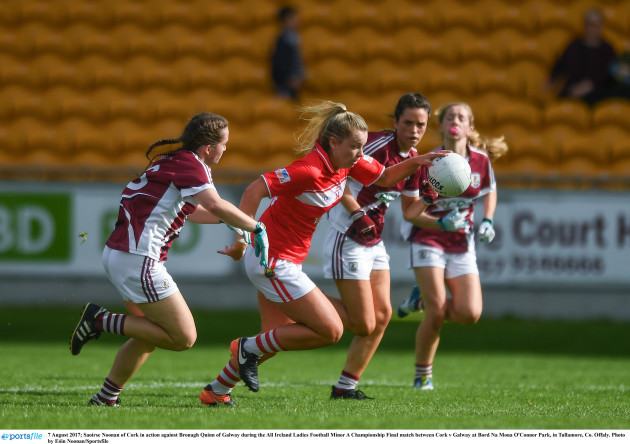 Cork v Galway - All Ireland Ladies Football Minor A Championship Final