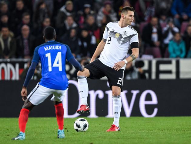 GES/ Fussball/ Germany - Frankreich, 14.11.2017