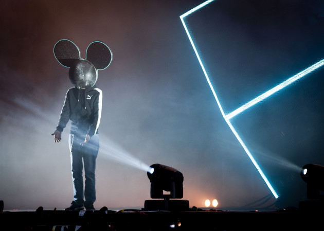 L.E.D Presents 'Deadmau5' in Victoria Park - London