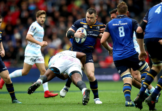 Cian Healy and Eddy Ben Arous