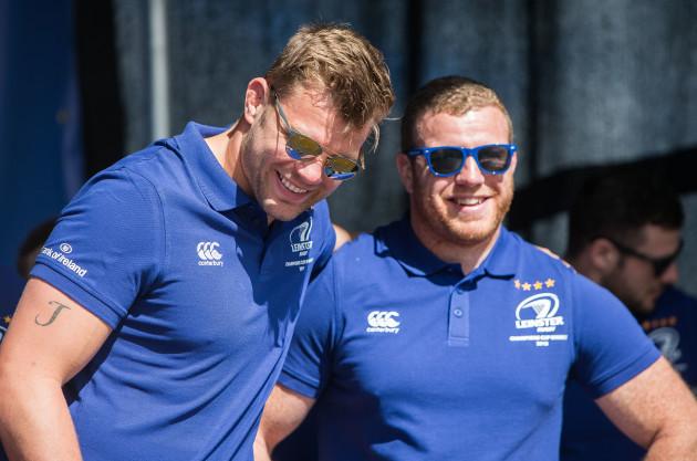 Jordi Murphy and Sean Cronin
