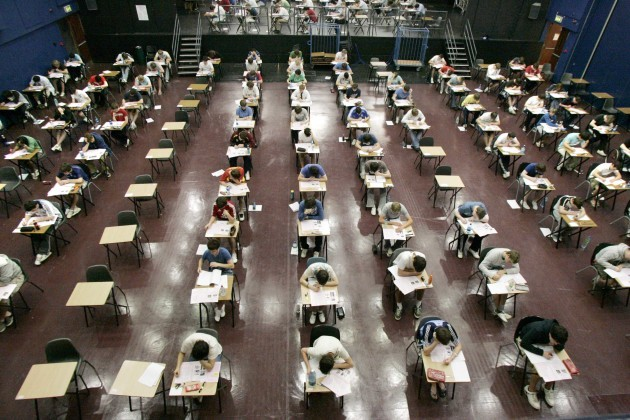 File Photo Leaving Cert Exams Begin This Wednesday.