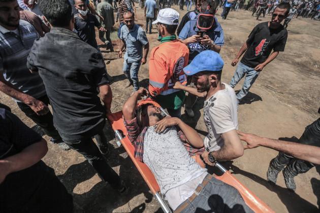 Clashes near Israel-Gaza border