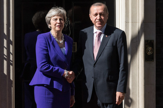 BRITAIN-LONDON-TURKEY-PRESIDENT-VISIT