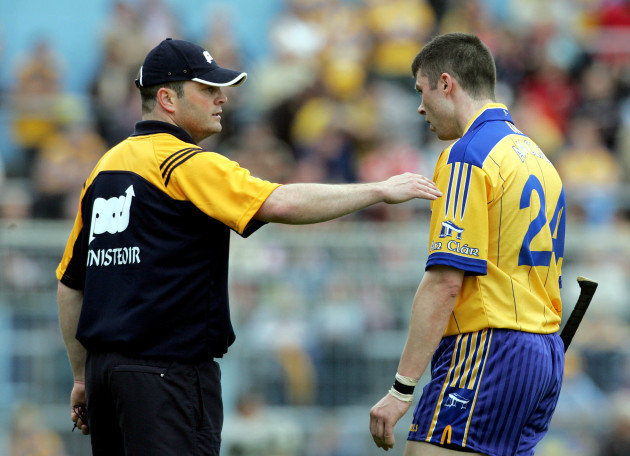 Anthony Daly with Fergal Lynch