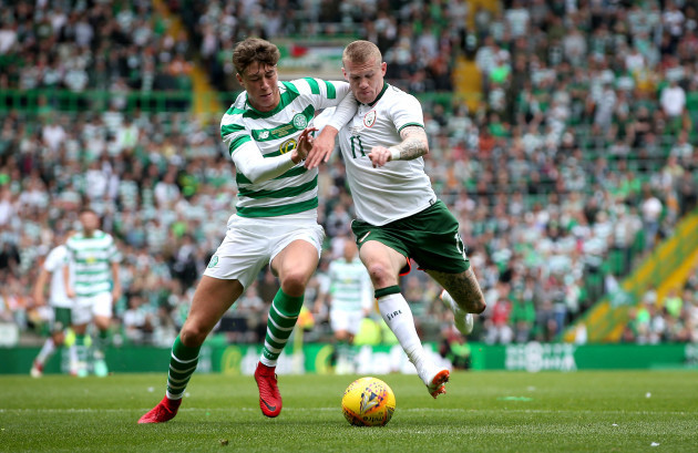 Jack Hendry and James McClean