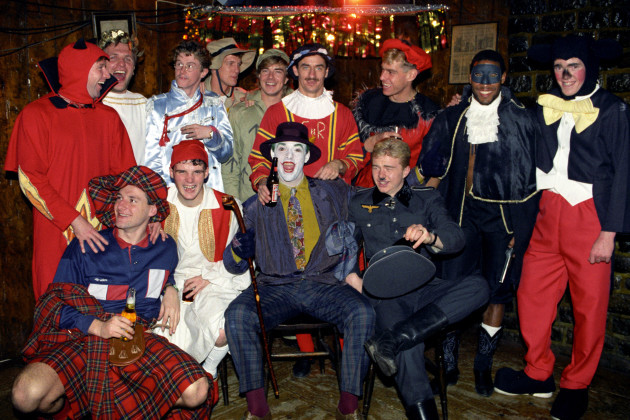 Soccer - Liverpool fancy dress Christmas Party