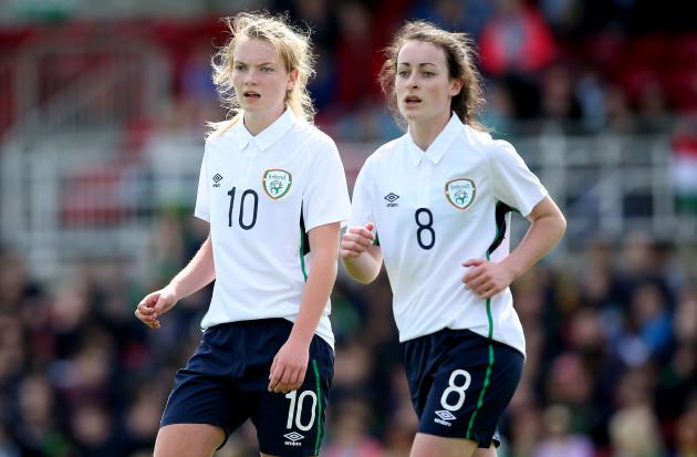 Saoirse Noonan and Roma McLaughlin