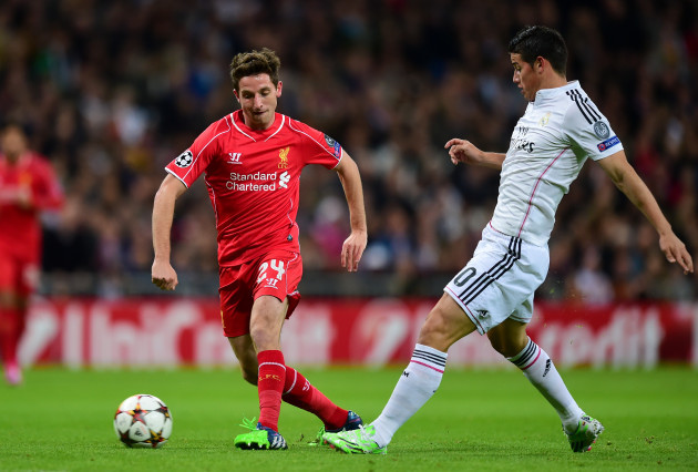 Soccer - UEFA Champions League - Group B - Real Madrid v Liverpool - Santiago Bernabeu