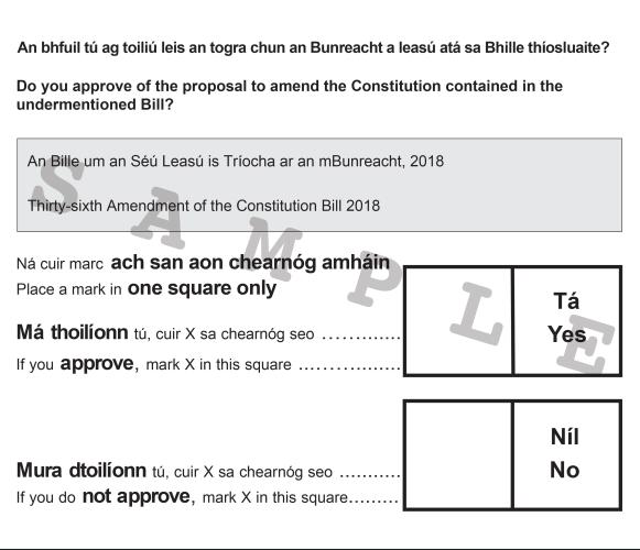 Voting Slip