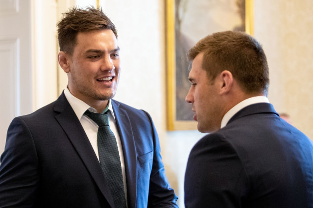 Quinn Roux and CJ Stander