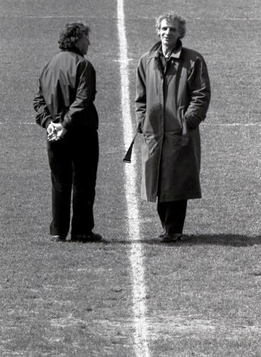 Eamon Dumphy and John Giles