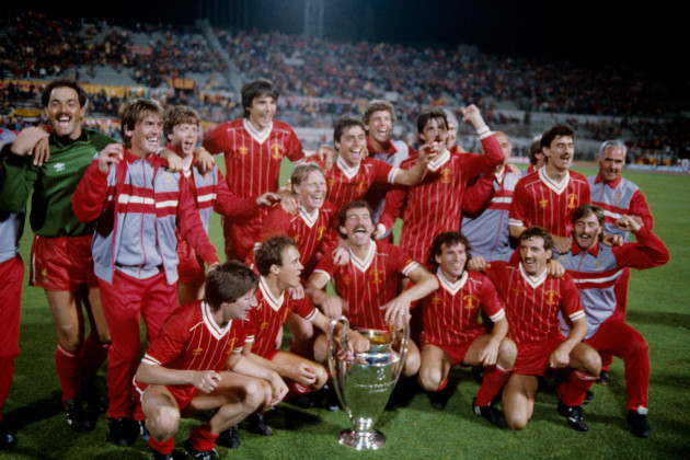 Soccer - European Cup - Final - Liverpool v AS Roma