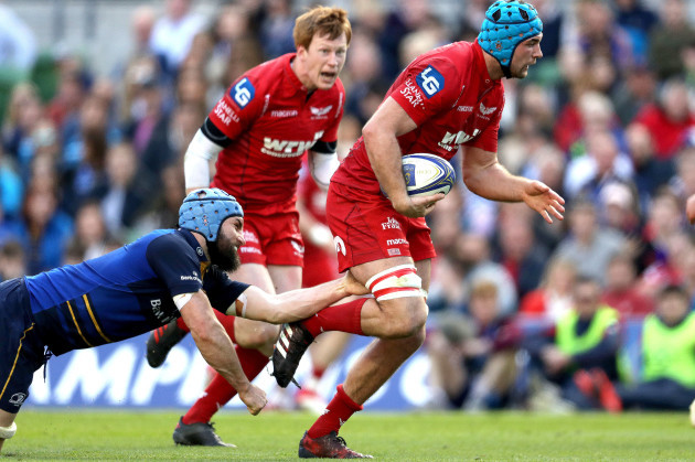 Scott Fardy and Tadhg Beirne