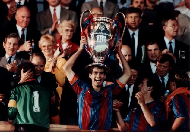 Josep Guardiola - UEFA Champions League Final - Wembley