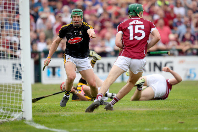 Eoin Murphy concedes a goal which was later disallowed