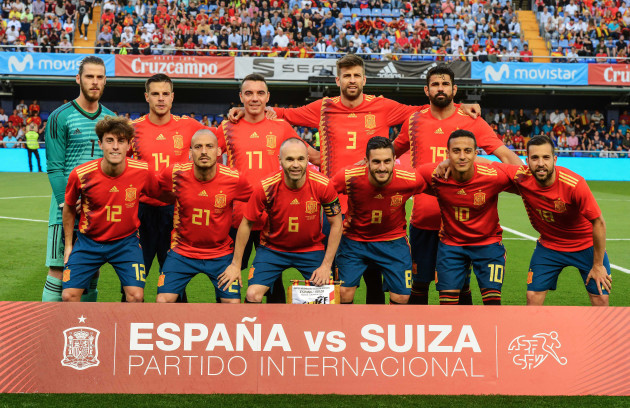 International Friendly - Spain v Switzerland power ranking the 10 teams most likely to win the 2018 world cup Power ranking the 10 teams most likely to win the 2018 World Cup  width 630 version 4059226