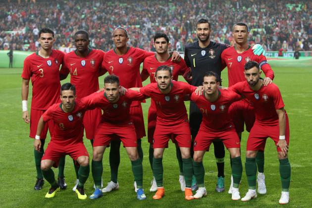 FIFA World Cup Russia 2018 preparation football match Portugal vs Algeria