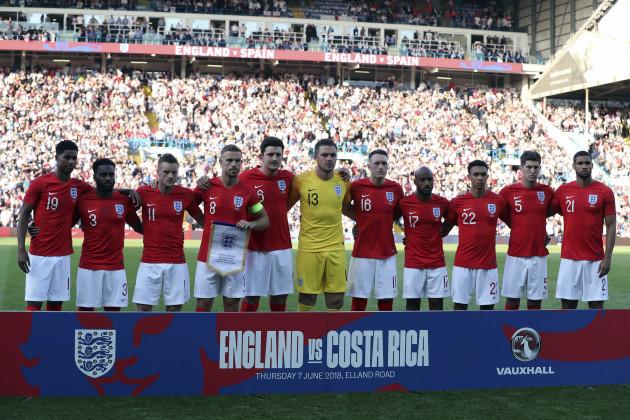 Britain England Costa Rica Soccer