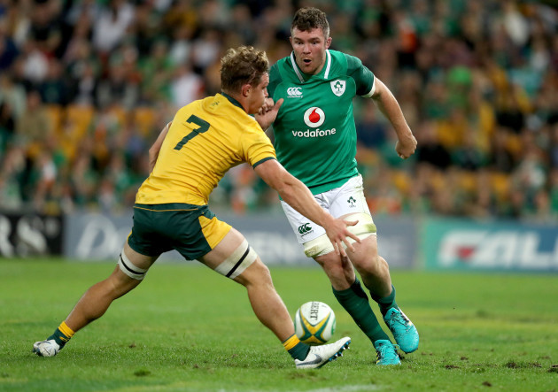 Peter O'Mahony and Michael Hooper