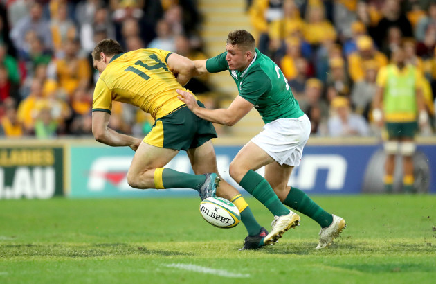 Jordan Larmour and Dane Haylett-Petty