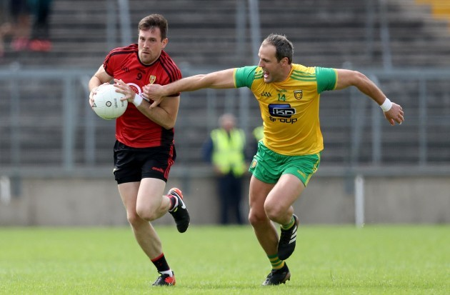 Michael Murphy with Niall Donnelly
