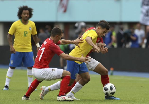 Austria Brazil Soccer