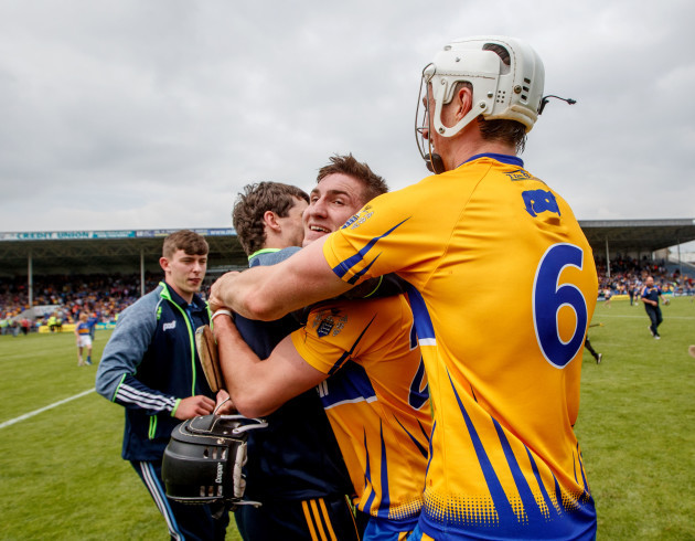 Ian Galvin and Conor Cleary celebrate