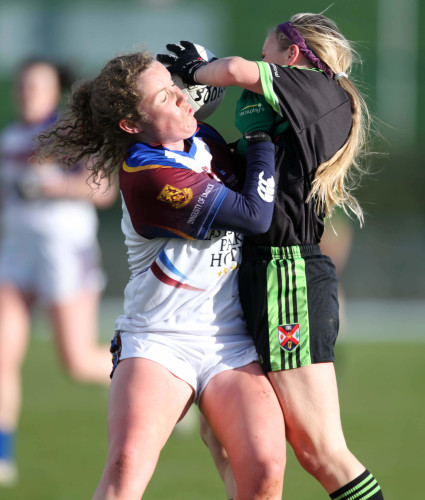 Lauren McConville with Kate Keaney