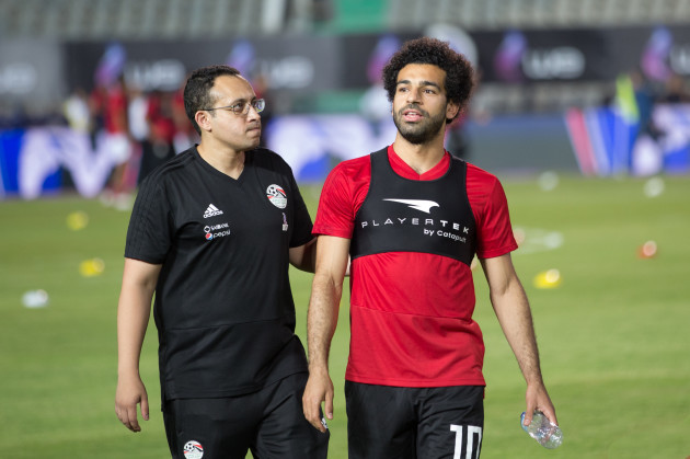 Egypt: Mohamed Salah Training Before World Cup in Russia