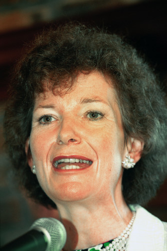 Irish President Mary Robinson