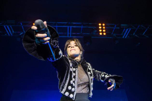 Camila Cabello in concert - Birmingham