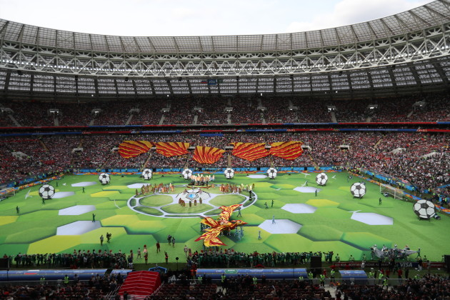 Xinhua Headlines: Russia kicks off FIFA World Cup with a promise to 'live it up'