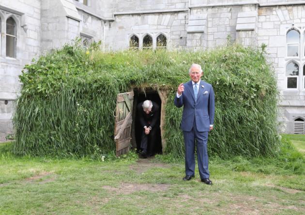 Royal Visit of Prince of Wales and Duchess of Cornwall to Cork, Ireland