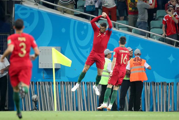 Portugal v Spain - FIFA World Cup 2018 - Group B - Fisht Stadium
