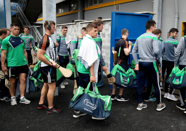 Limerick arrive
