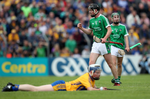 Cormac Ryan celebrates after the game