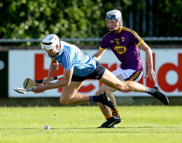 Eoghan Conroy with Liam Stafford
