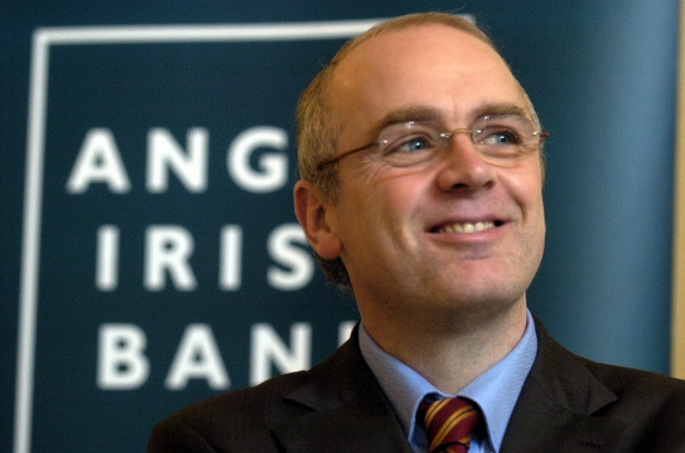 File Photo. Former CEO of Anglo Irish Bank, David Drumm has been giving a Six year sentence for conspiracy and false accounting. End.