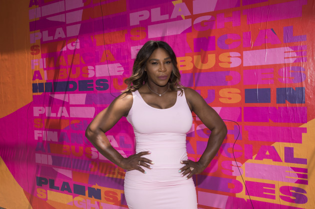Serena Williams and Allstate Foundation Purple Purse Campaign Launch