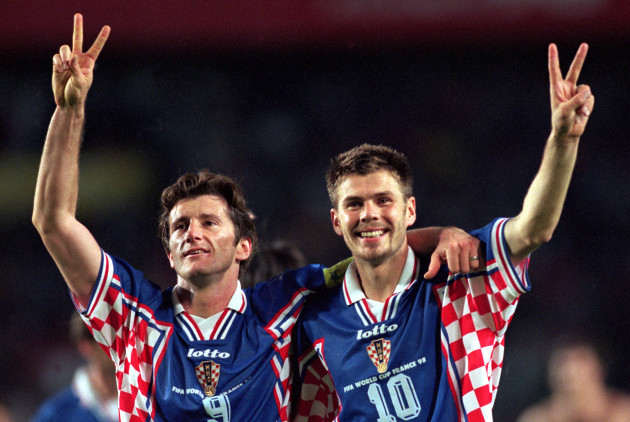 Soccer - World Cup France 98 - Third Place Play-Off - Holland v Croatia