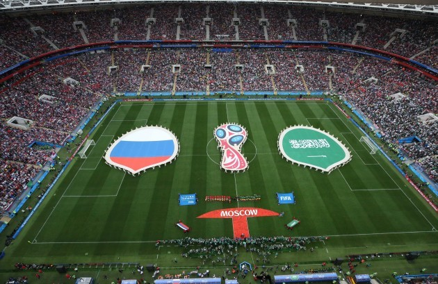 (SP)RUSSIA-MOSCOW-2018 WORLD CUP-OPENING MATCH-RUSSIA VS SAUDI ARABIA