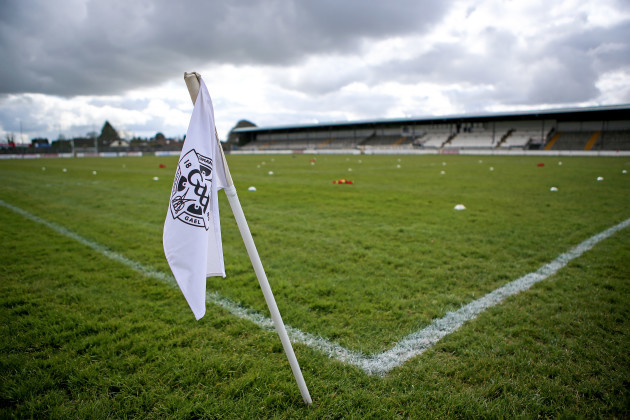 A general view of St Conleth's Park ahead of the game