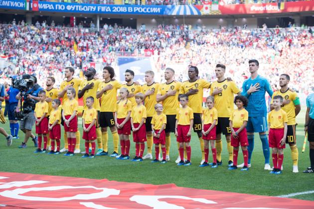 Belgium v Tunisia - FIFA World Cup 2018 - Group G - Spartak Stadium